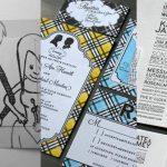 creativos diseño de tarjeta de invitacion de bodas