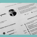 Curriculum vitae  cronológico Word | tipos