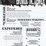 18 diseño de curriculum vitae creativos