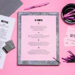 12 carta de menu de restaurantes diseños creativos