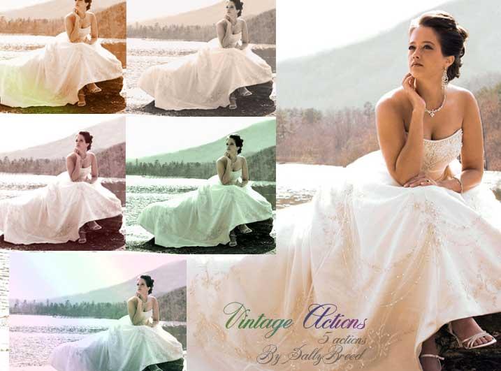 accion photoshop gratis bodas