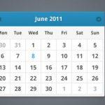 40 creativas plantillas de calendarios gratuitos en PSD